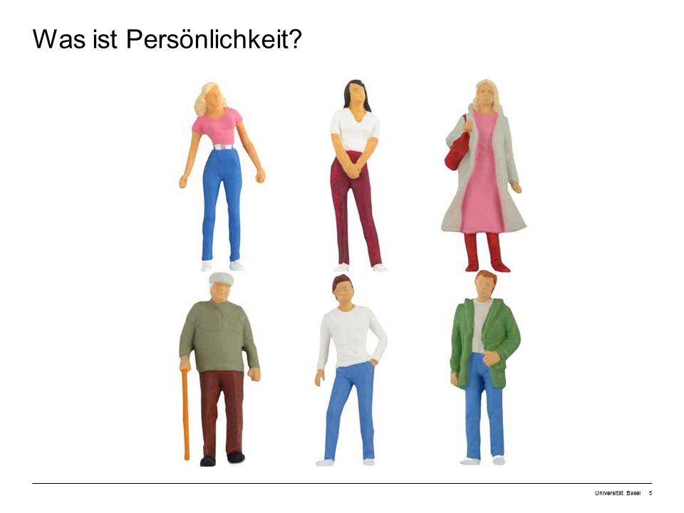 Universität Basel36 1Was versteht man unter Persönlichkeit.