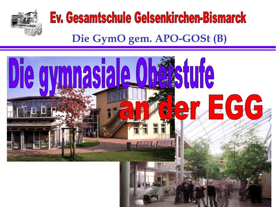 Seite:1 1 Die GymO gem. APO-GOSt (B)