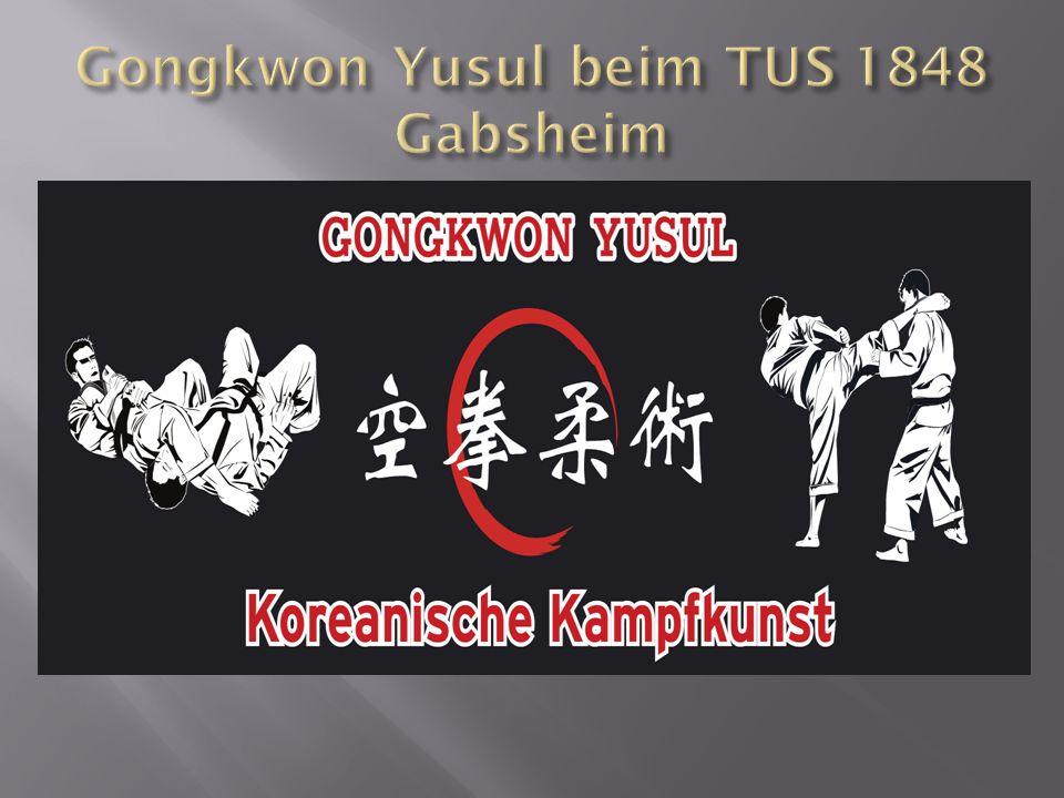 Gongkwon Yusul ist eine moderne Kampfkunst aus Südkorea, entstanden im Jahre 1996.