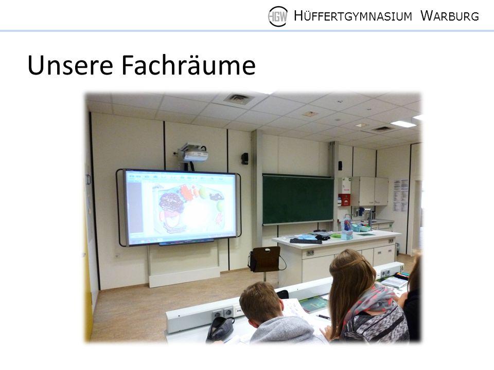 H ÜFFERTGYMNASIUM W ARBURG Unsere Fachräume