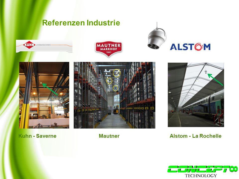 Referenzen Industrie Kuhn - SaverneMautner Alstom - La Rochelle