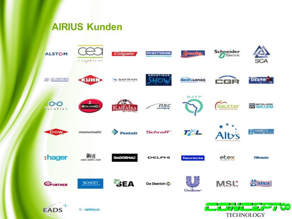 AIRIUS Kunden