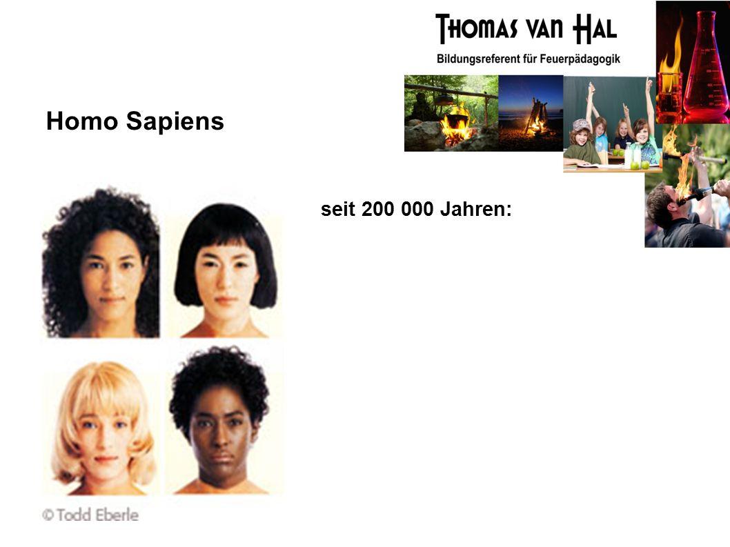 Homo Sapiens seit 200 000 Jahren: