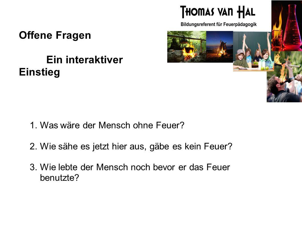 Die Wendepunkte des Menschlichen Feuergebrauchs 3.