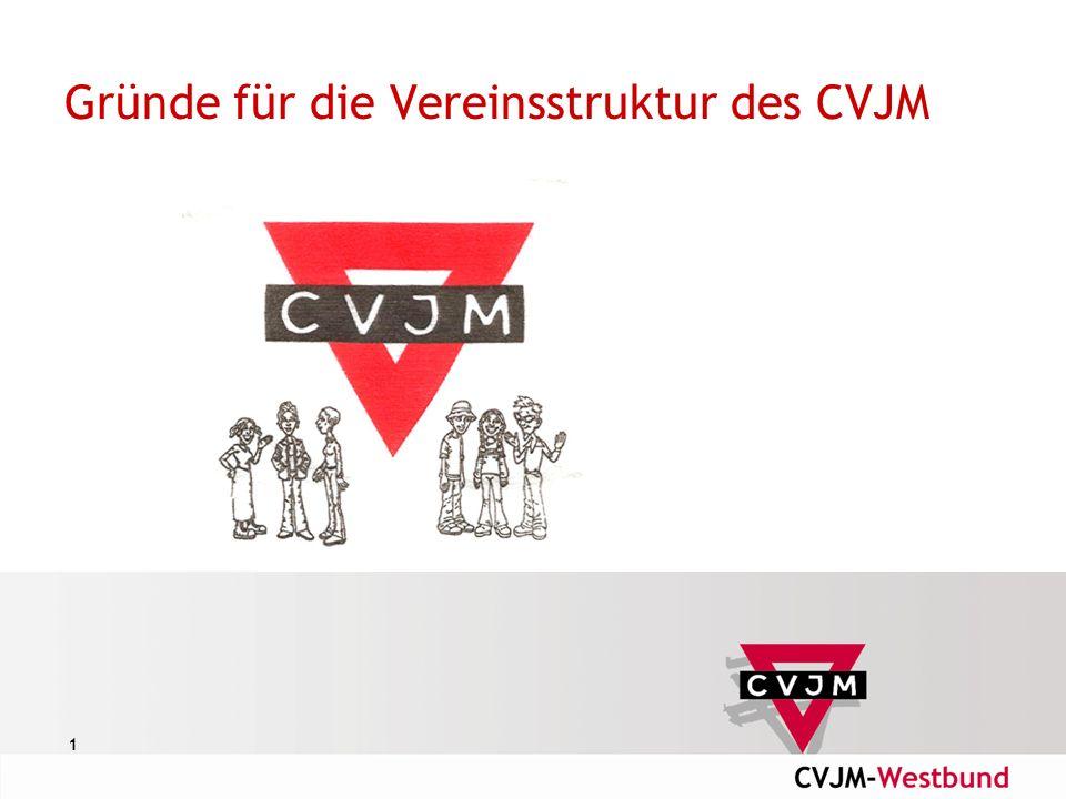 1 Gründe für die Vereinsstruktur des CVJM