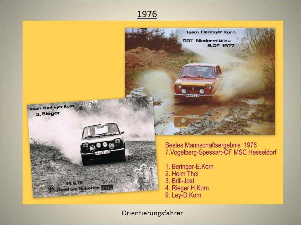 1976 Orientierungsfahrer