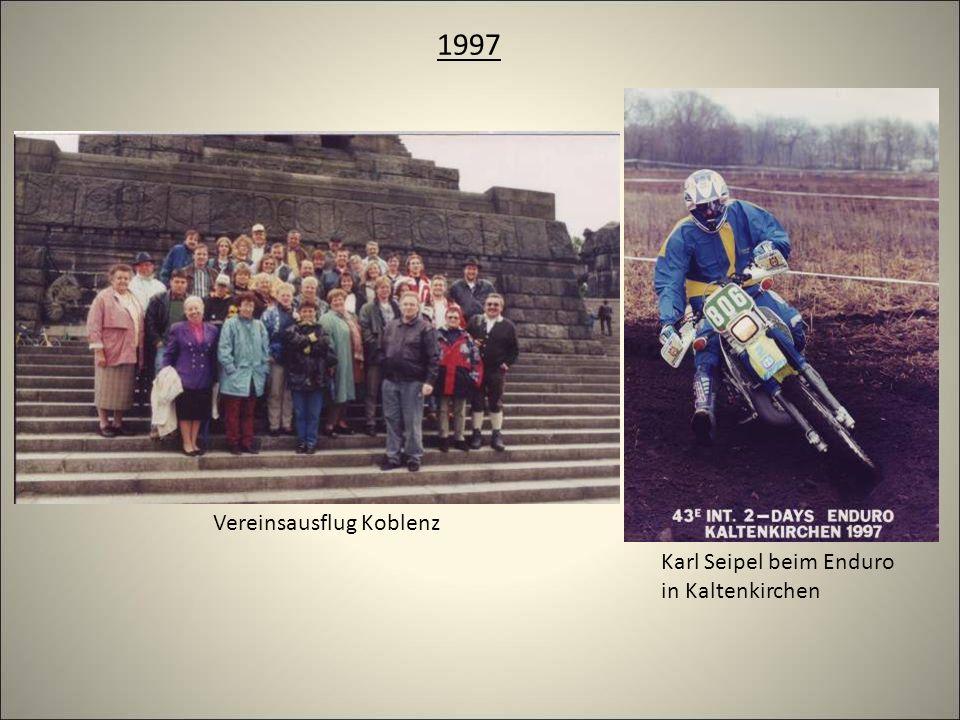 1997 Vereinsausflug Koblenz Karl Seipel beim Enduro in Kaltenkirchen
