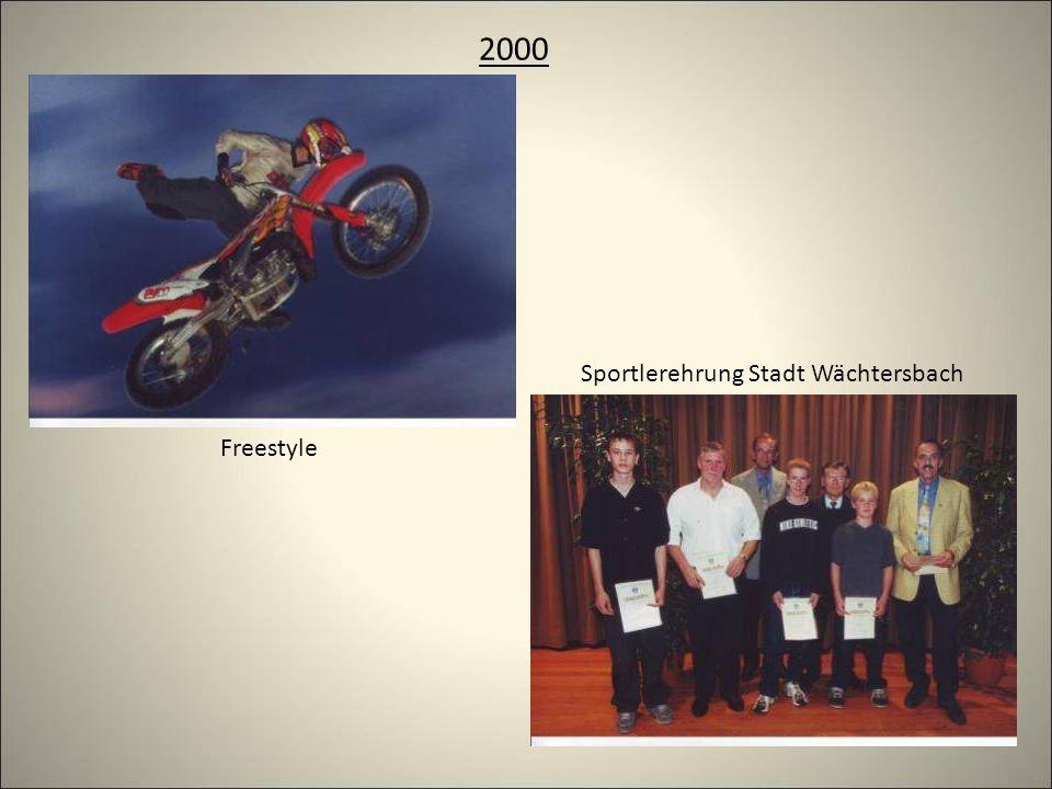 2000 Freestyle Sportlerehrung Stadt Wächtersbach
