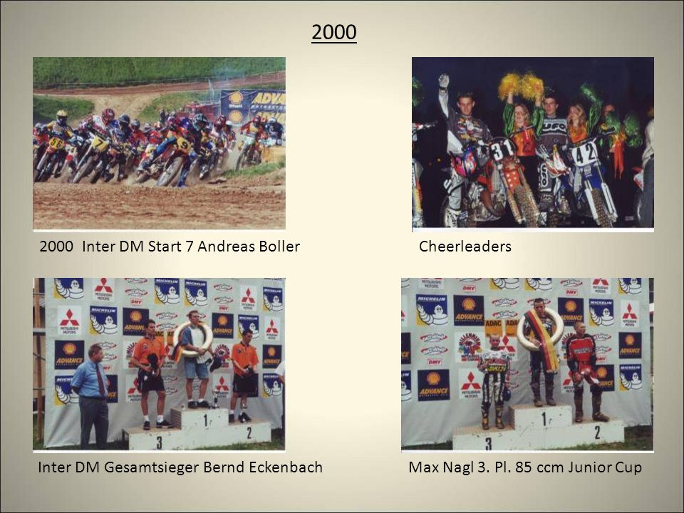 2000 Cheerleaders2000 Inter DM Start 7 Andreas Boller Max Nagl 3.