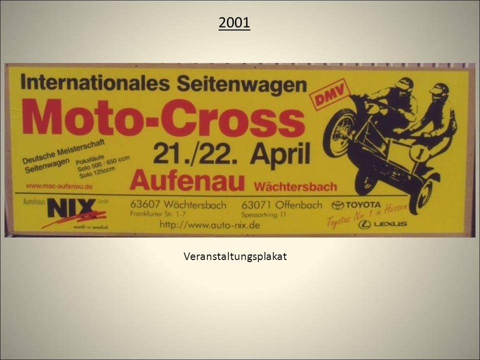 2001 Veranstaltungsplakat