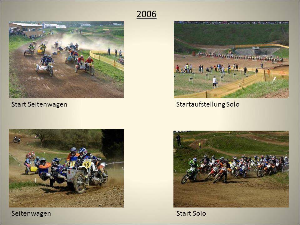2006 Startaufstellung Solo Start Solo Start Seitenwagen Seitenwagen