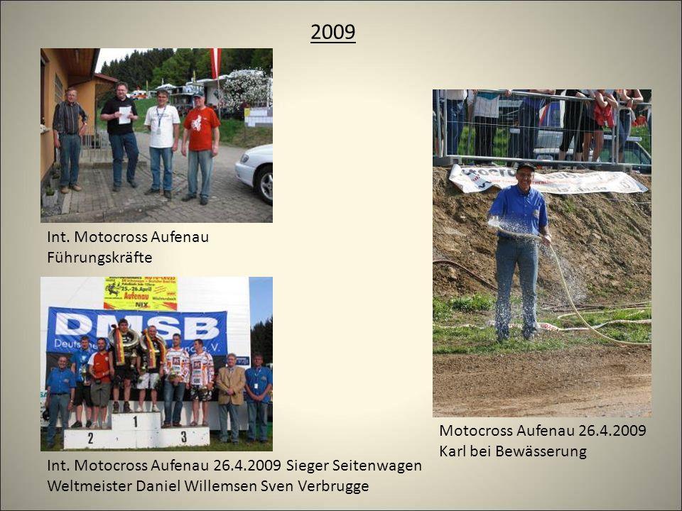 2009 Int. Motocross Aufenau Führungskräfte Motocross Aufenau 26.4.2009 Karl bei Bewässerung Int.