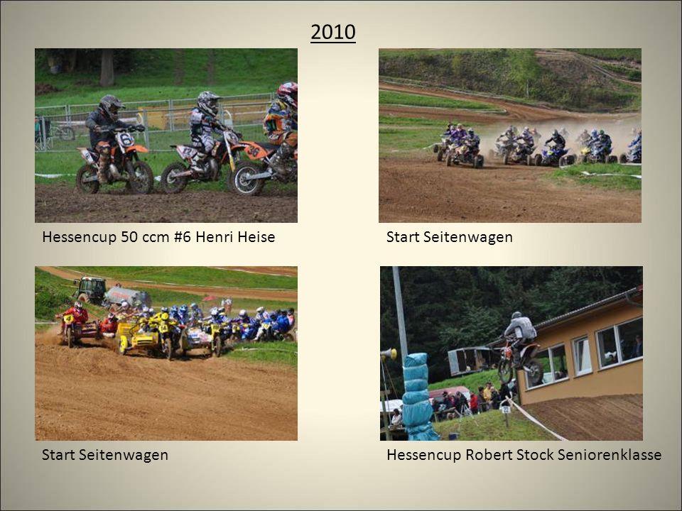 2010 Start Seitenwagen Hessencup 50 ccm #6 Henri Heise Hessencup Robert Stock Seniorenklasse
