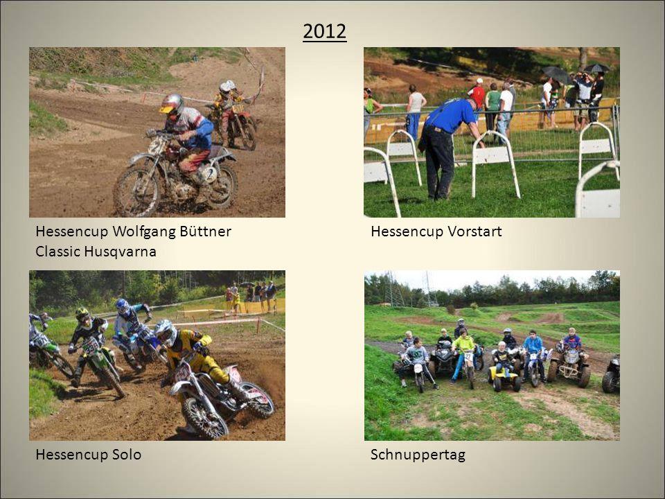2012 Schnuppertag Hessencup VorstartHessencup Wolfgang Büttner Classic Husqvarna Hessencup Solo