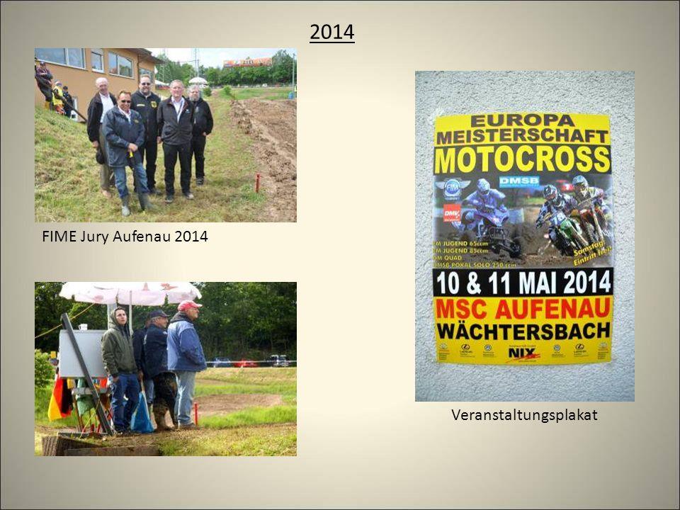 2014 Veranstaltungsplakat FIME Jury Aufenau 2014