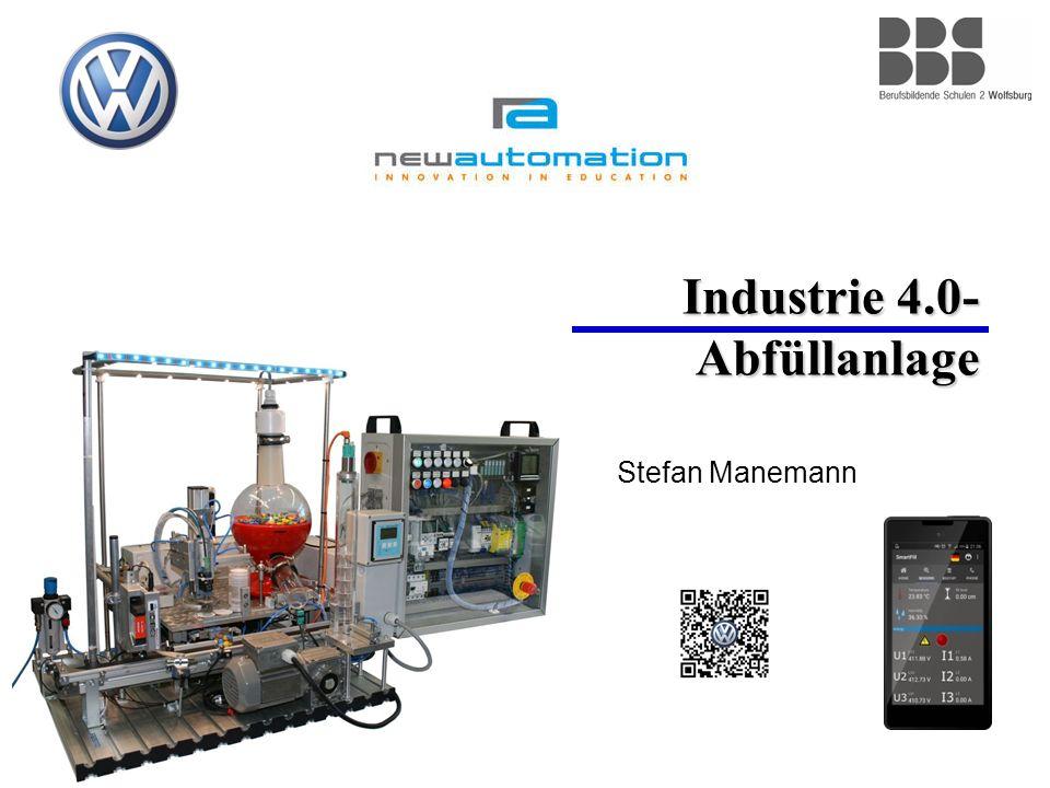 Industrie 4.0- Abfüllanlage Stefan Manemann