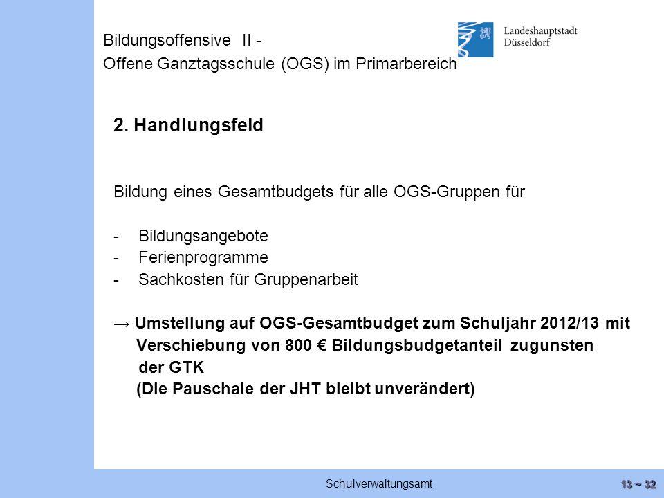 13 ~ 32 Schulverwaltungsamt 2.