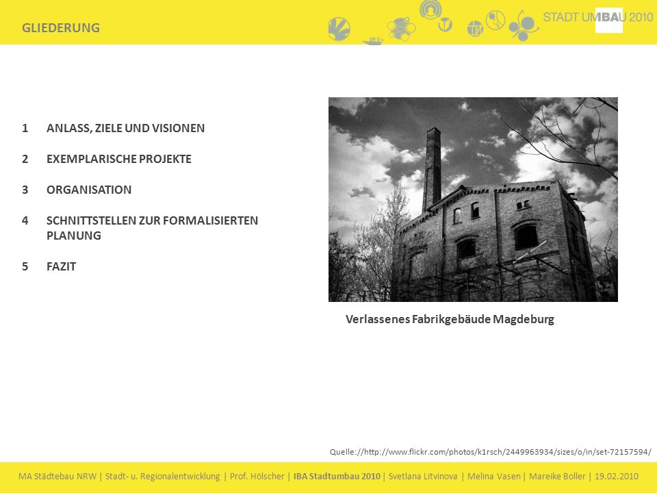 MA Städtebau NRW | Stadt- u.Regionalentwicklung | Prof.