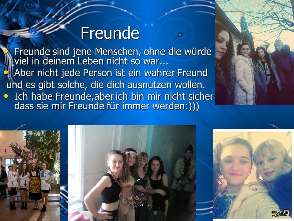 Freunde Freunde sind jene Menschen, ohne die würde viel in deinem Leben nicht so war...