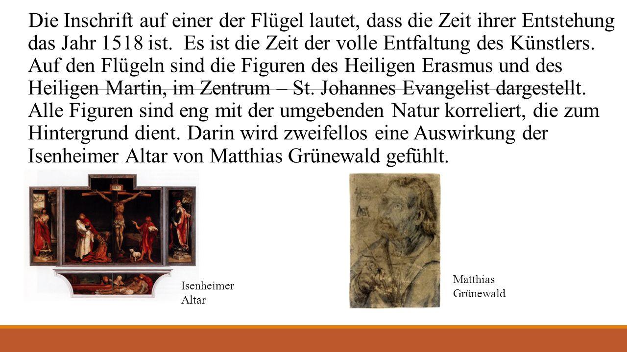 Neben der Malerei schuf Hans Burgkmair Holzgravüren (eine Art von Druckgrafik), die die große Berühmtheit in Augsburg und außerhalb seinen Grenzen erworben haben.