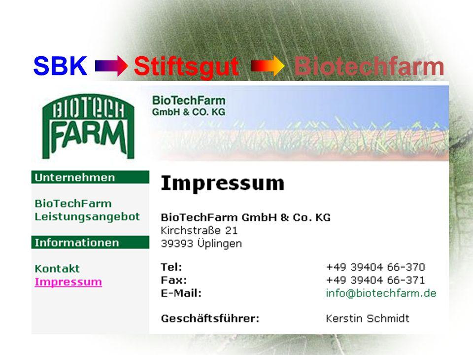 Chef: Joachim Schiemann Eine gentechnikfreie Produktion mit Null- toleranz ist nicht praktikabel.