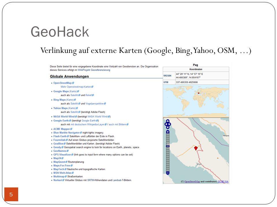 GeoHack Verlinkung auf externe Karten (Google, Bing, Yahoo, OSM, …) 5