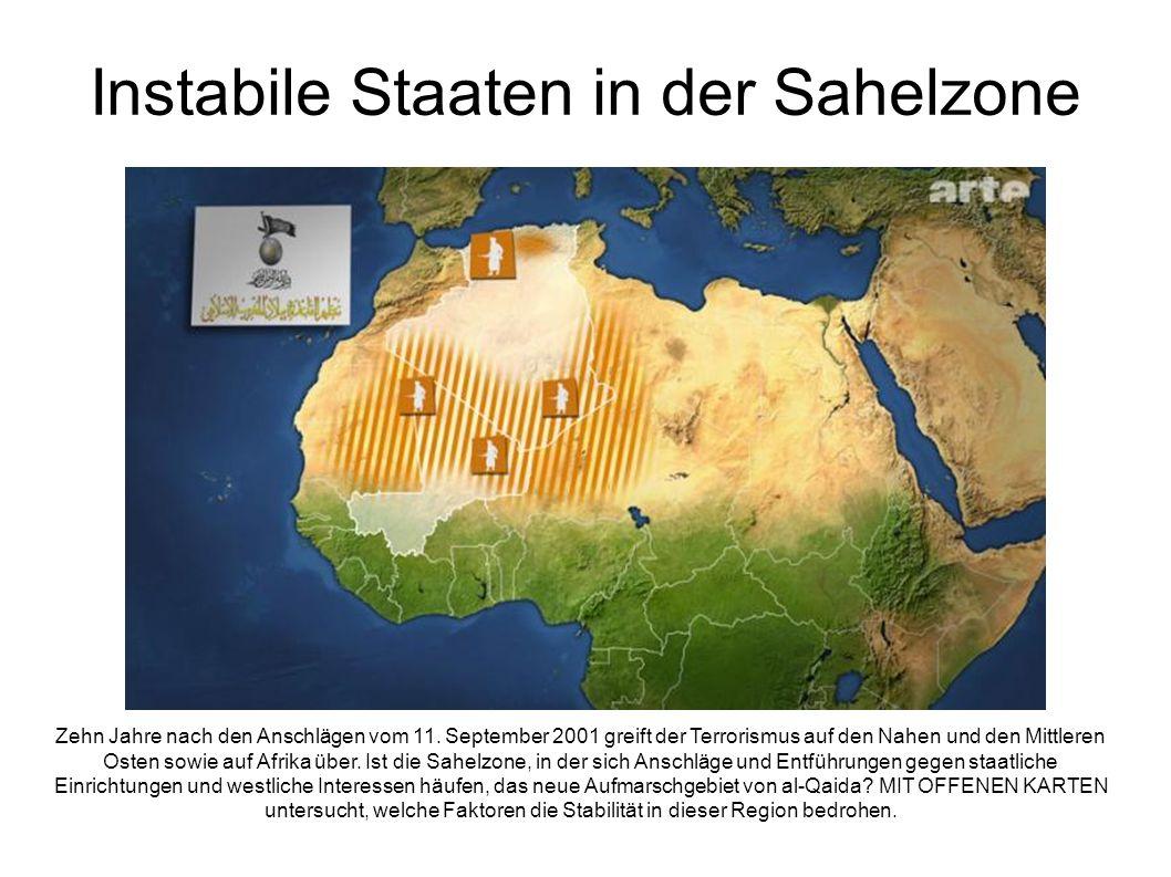 Instabile Staaten in der Sahelzone Zehn Jahre nach den Anschlägen vom 11.