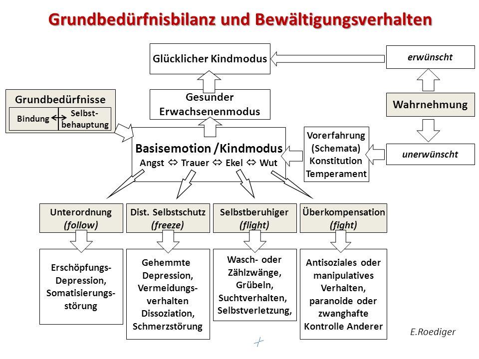 Wahrnehmung Unterordnung (follow) Dist.