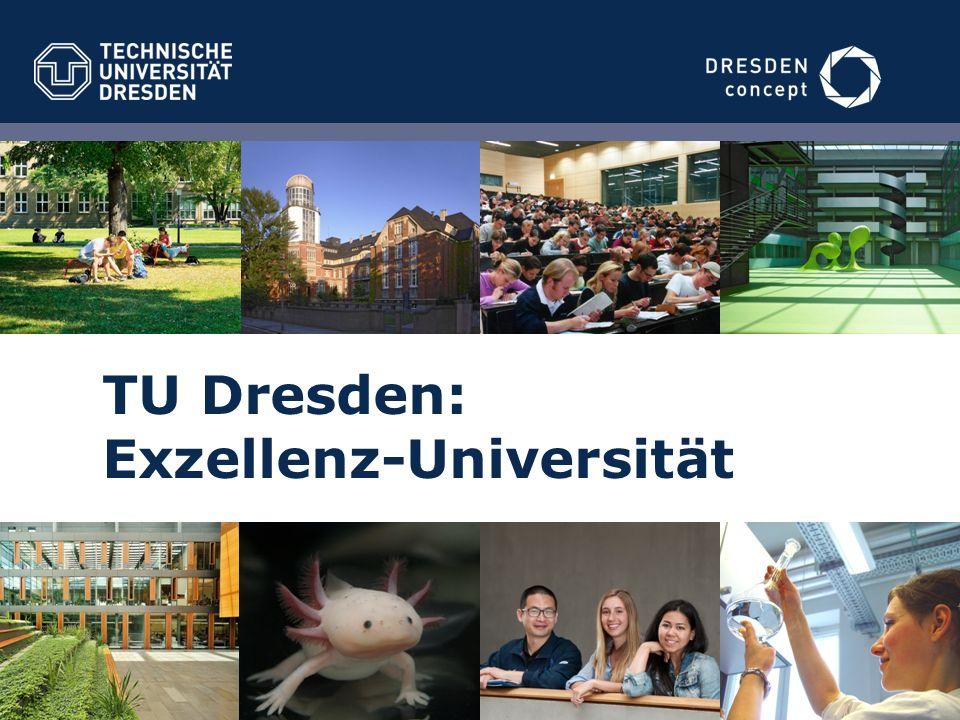 TU Dresden: Exzellenz-Universität