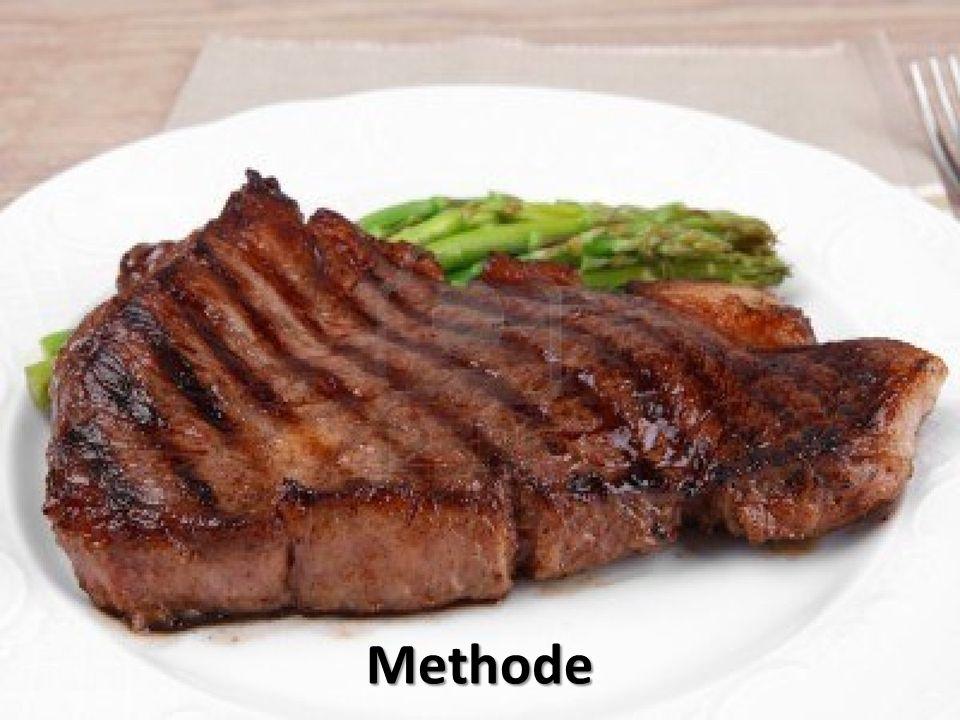 Legen Sie das Fleisch in eine große Schüssel geben und salzen.