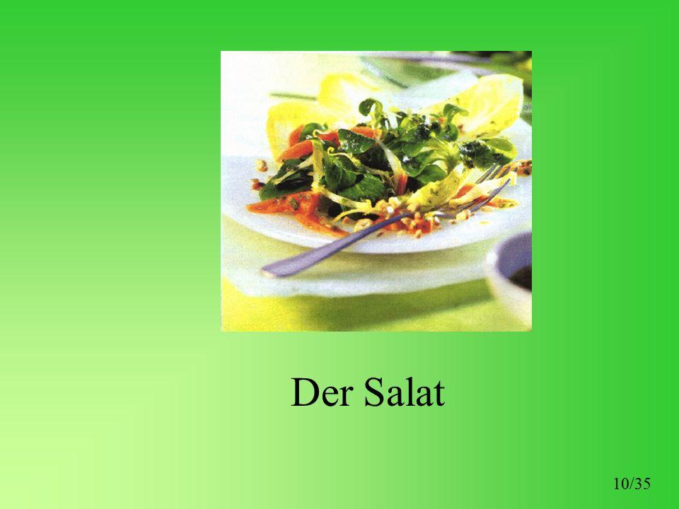 Der Salat 10/35