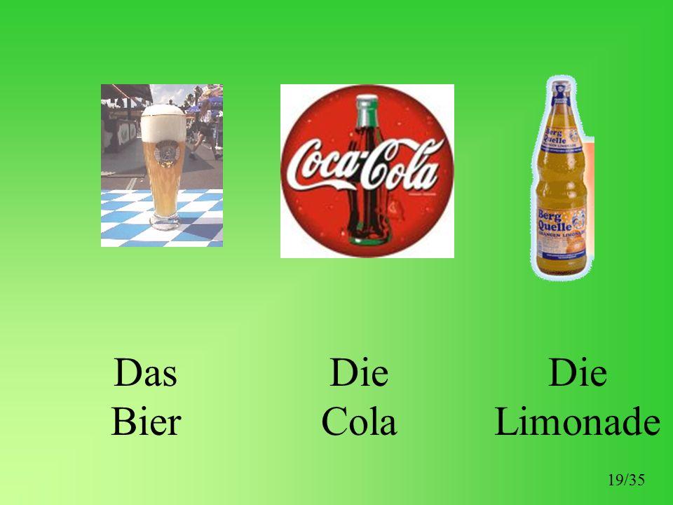 Das Bier Die Cola Die Limonade 19/35
