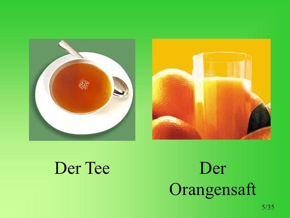 Der TeeDer Orangensaft 5/35