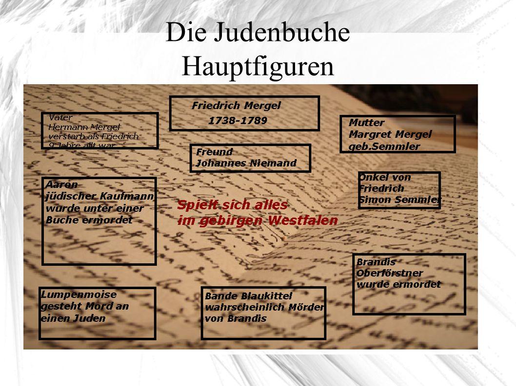 Die Judenbuche Hauptfiguren
