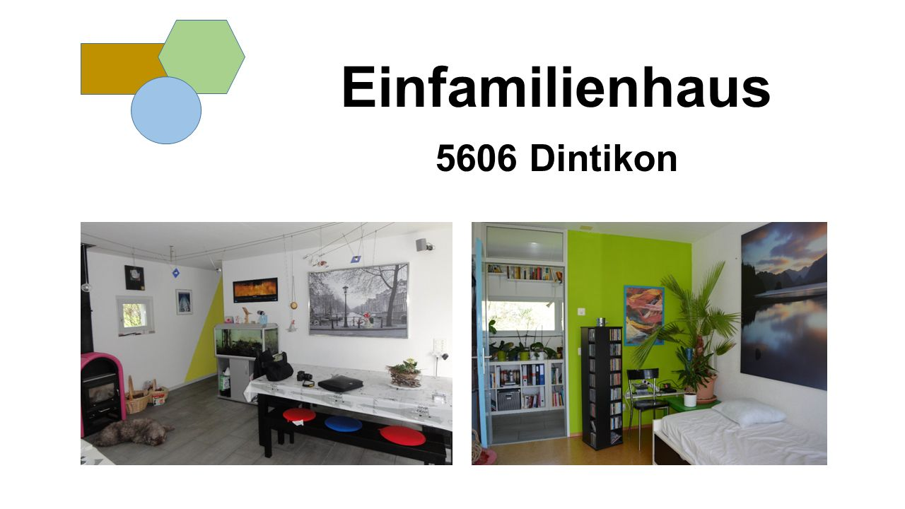Einfamilienhaus 5606 Dintikon