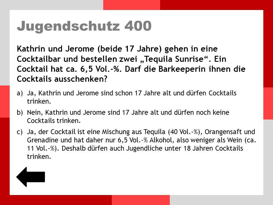 Jugendschutz 300 Herr Müller feiert seinen Geburtstag.
