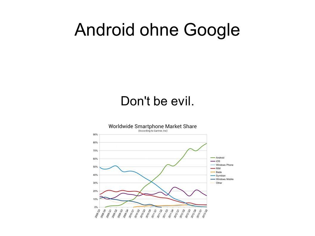 Agenda ● Android Ökosystem ● Google Cloud → vertrauens^Weigener Server ● Demo ● VPN ● Gerät rooten/Cyanogenmod