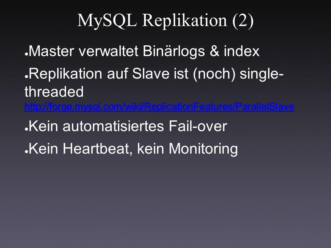 MySQL Replikation (2)