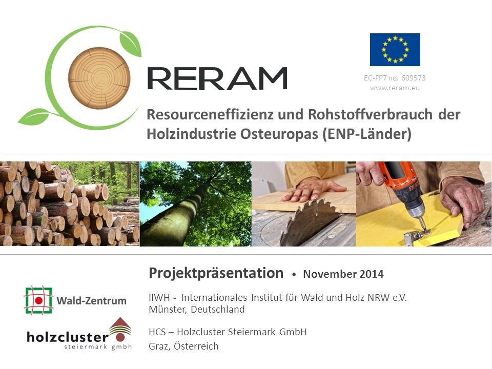 www.reram.eu 1 EC-FP7 no. 609573 www.reram.eu Projektpräsentation November 2014 IIWH - Internationales Institut für Wald und Holz NRW e.V. Münster, De