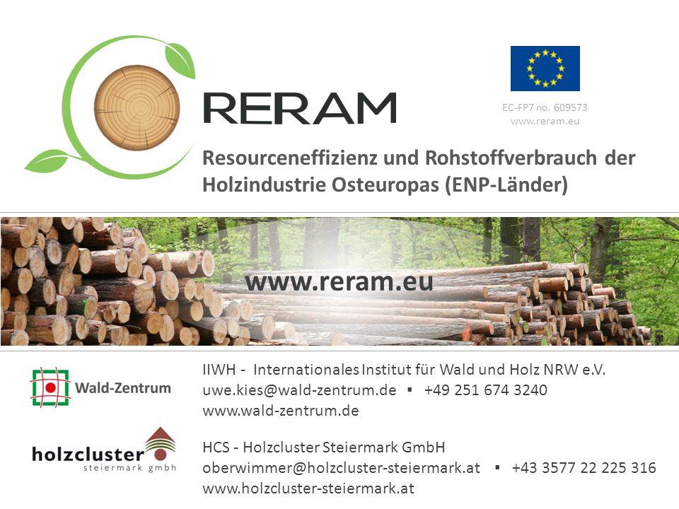 www.reram.eu 16 EC-FP7 no. 609573 www.reram.eu IIWH - Internationales Institut für Wald und Holz NRW e.V. uwe.kies@wald-zentrum.de ▪ +49 251 674 3240
