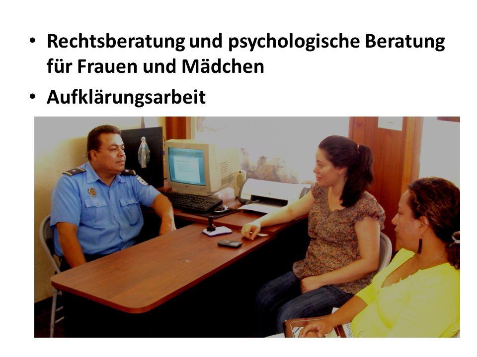 Rechtsberatung und psychologische Beratung für Frauen und Mädchen Aufklärungsarbeit
