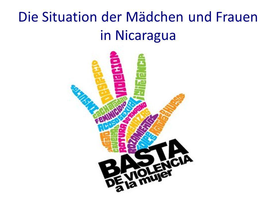 Die Situation der Mädchen und Frauen in Nicaragua