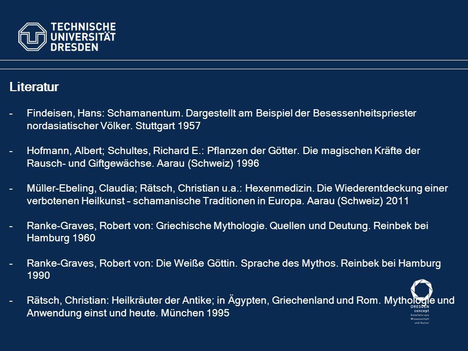 Literatur -Findeisen, Hans: Schamanentum.