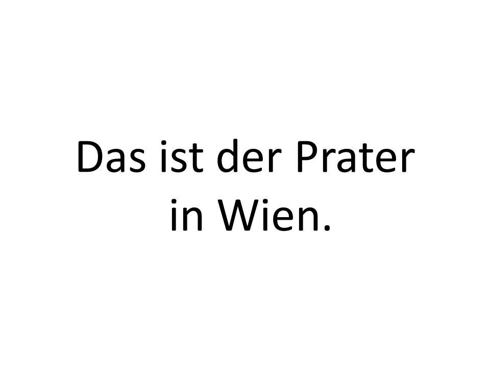 Das ist der Prater in Wien.