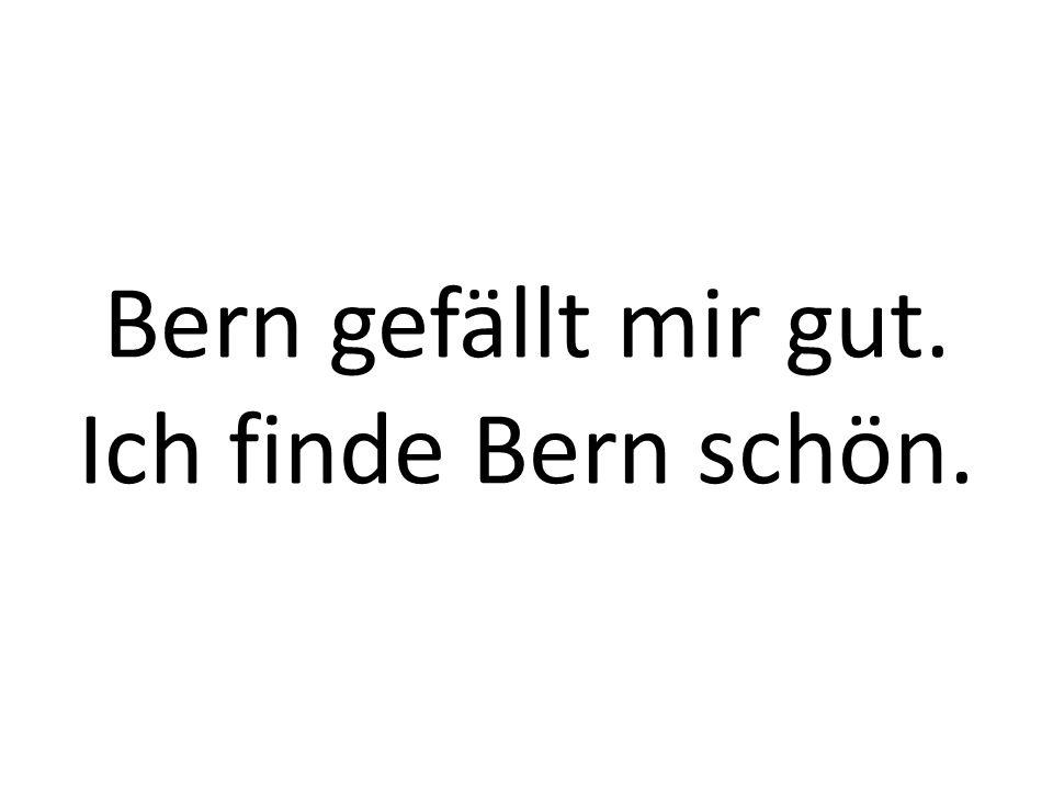 Wie ist heute das Wetter in Bern?