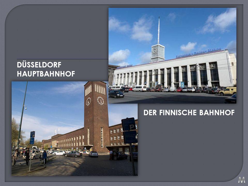 DÜSSELDORF HAUPTBAHNHOF DER FINNISCHE BAHNHOF