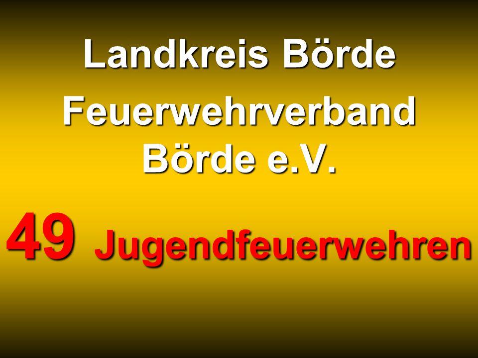 Landkreis Börde Feuerwehrverband Börde e.V. 49 Jugendfeuerwehren