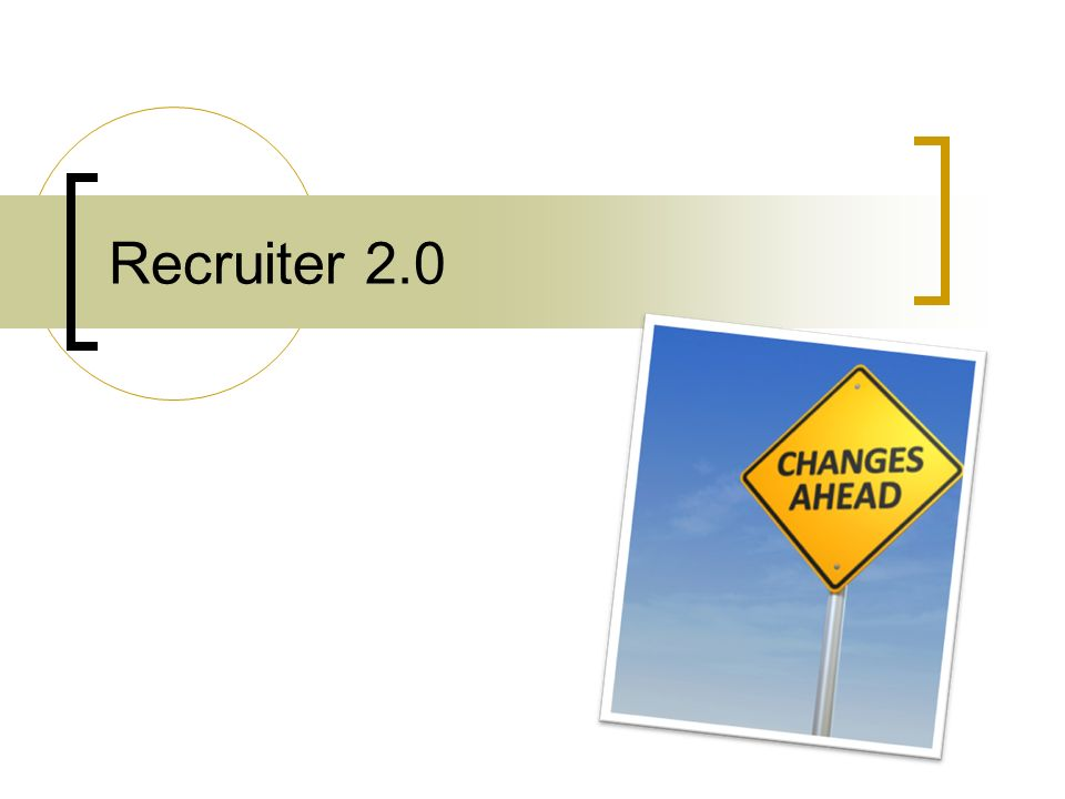 Recruiter 2.0