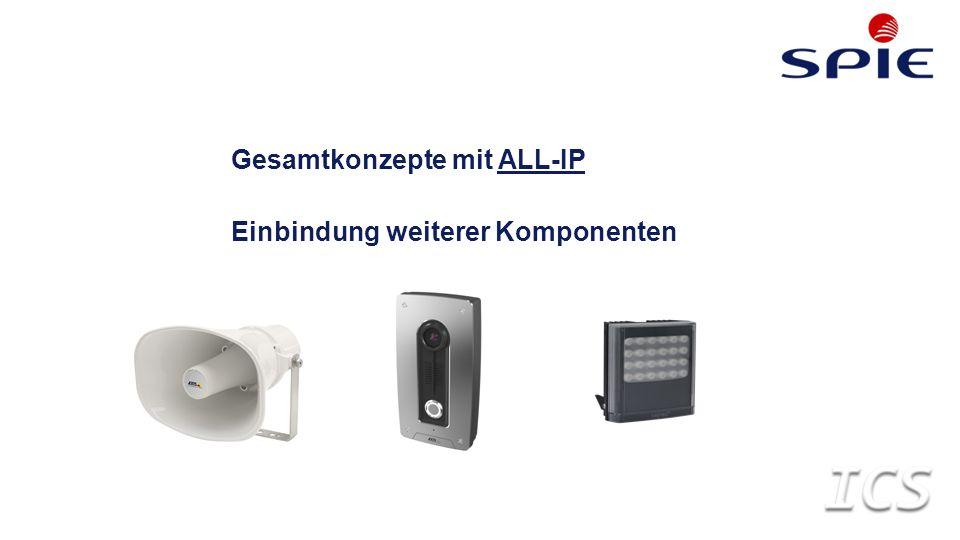 Gesamtkonzepte mit ALL-IP Einbindung weiterer Komponenten