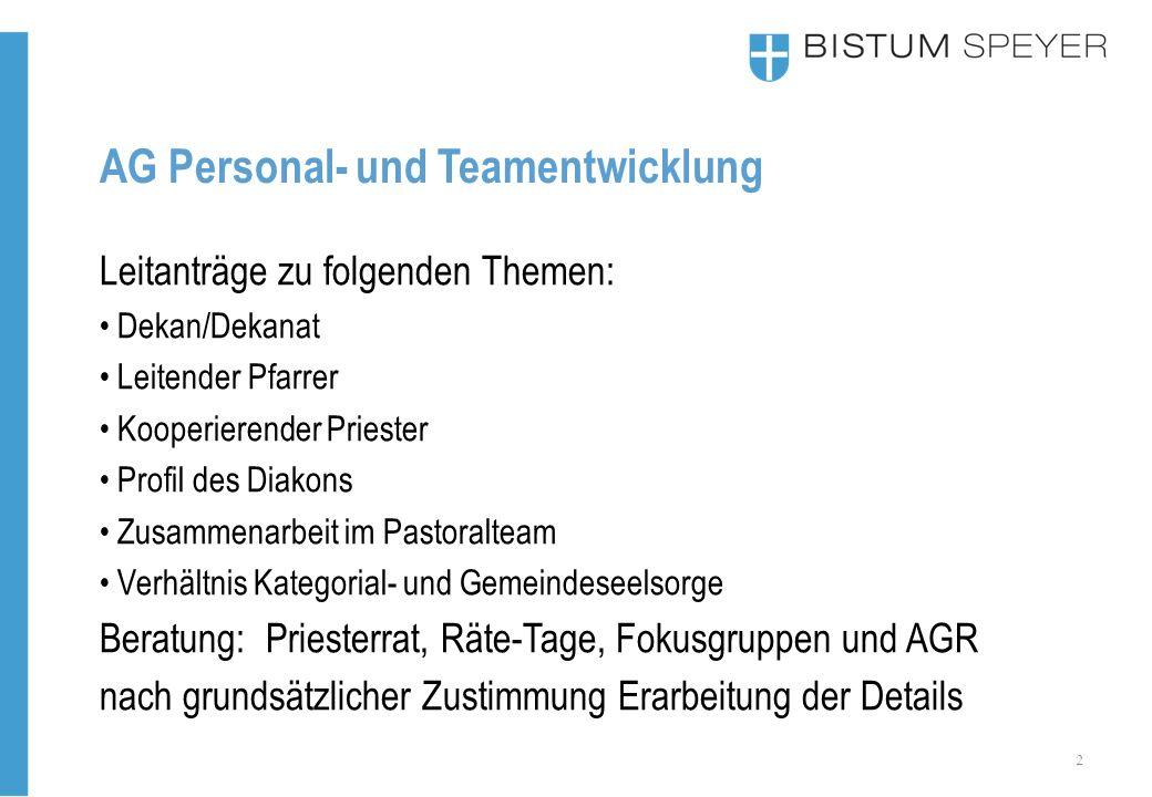 13 AG Personal- und Teamentwicklung Zusammenfassung: 2025 werden ca.